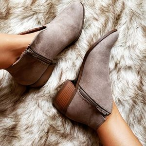 Shoes - 🆕️//The Cheyenne// Taupe cut out bootie